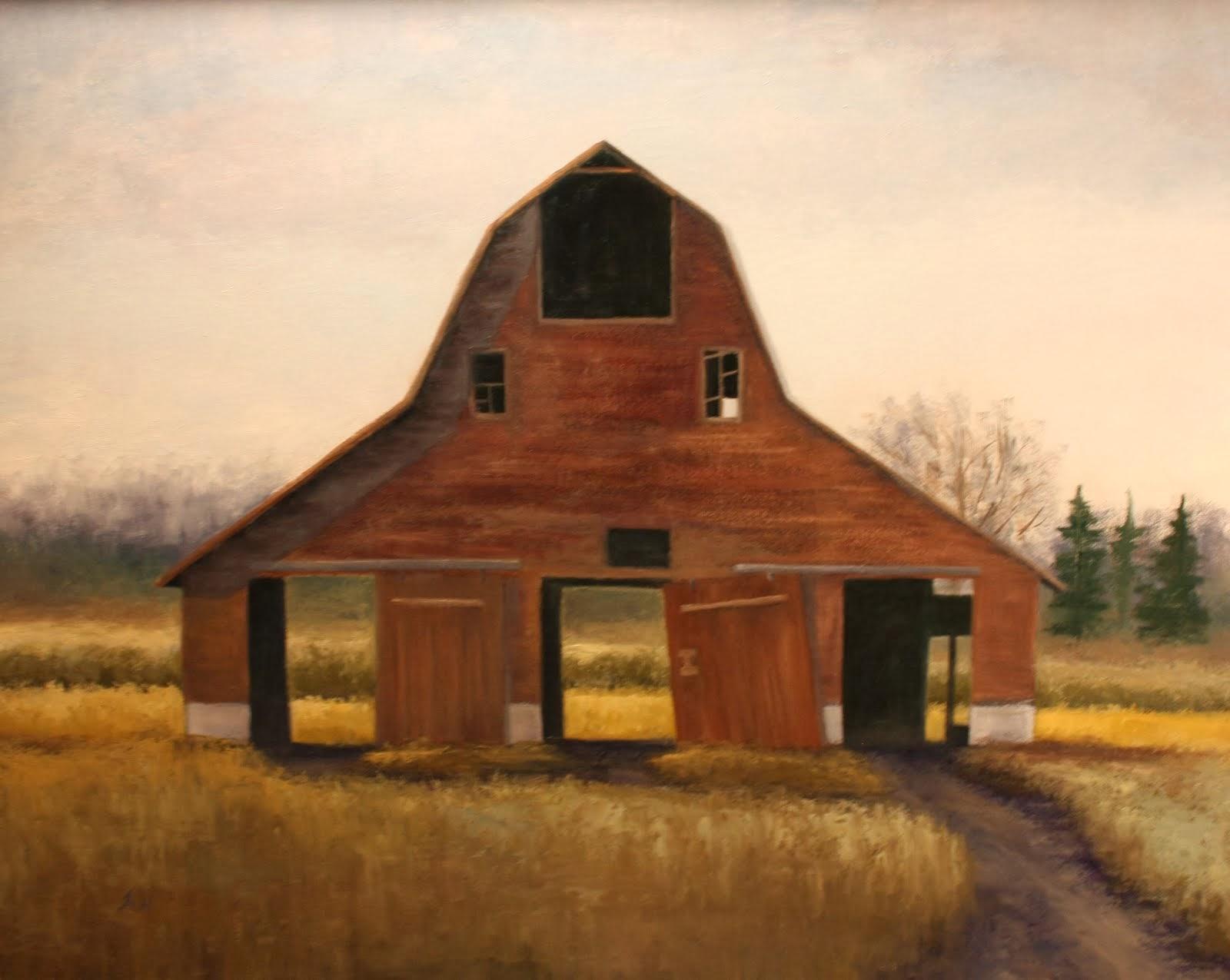 """Old Barn"" 24x30"