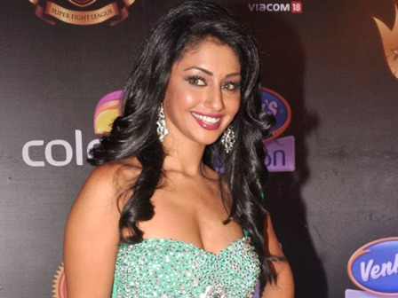 Mahek Chhal at the Super Fight League event - Mahek Chhal at the Super Fight League event