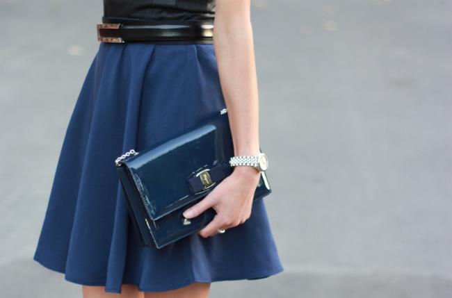 3.1 phillip lim target navy skirt collection