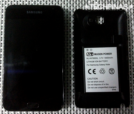 mugen battery, samsung extended battery pack, mugen samsung battery