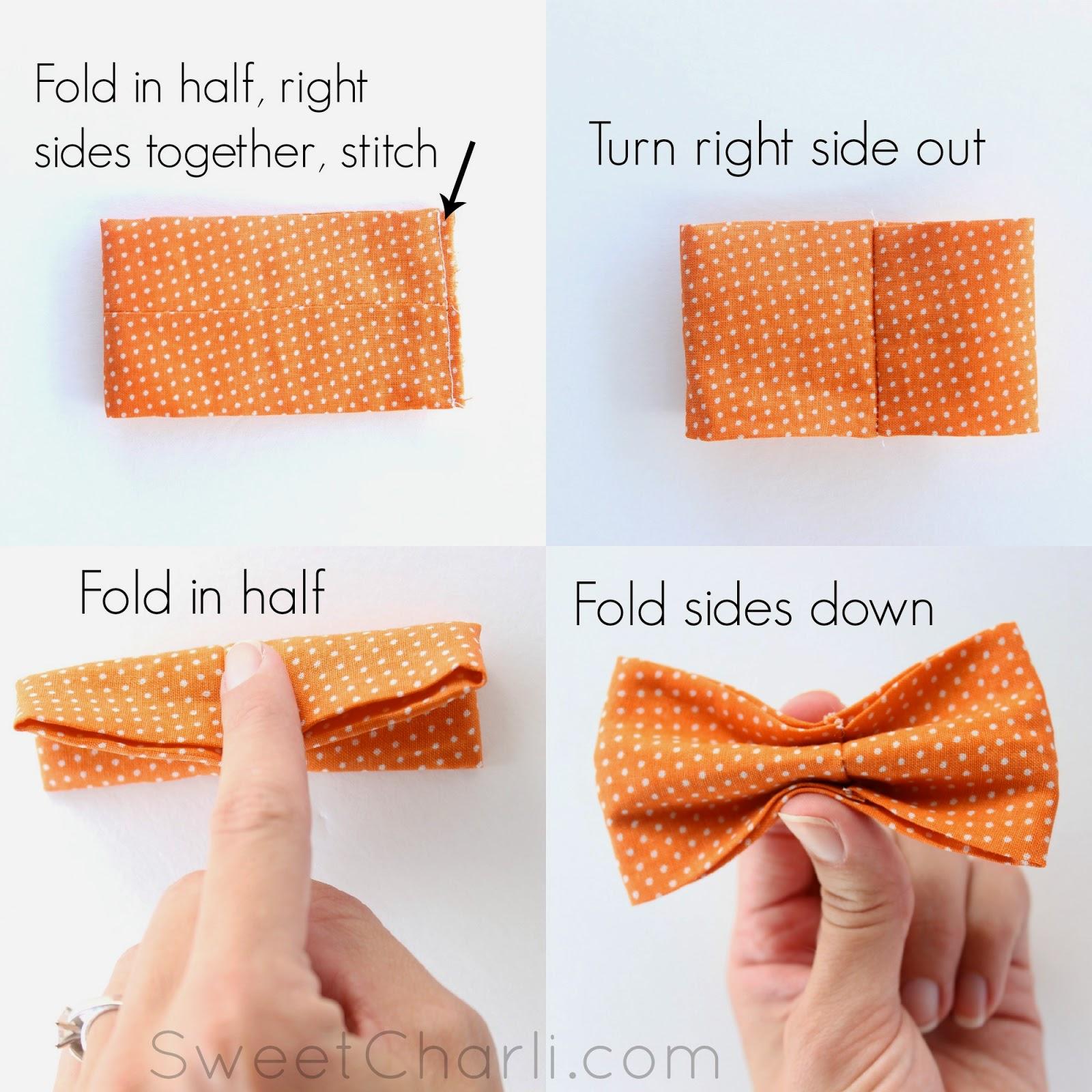Easy Bow Tie Tutorial