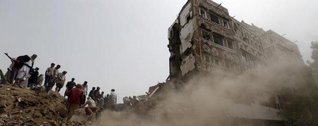 Kedutaan Iran di Bom di Yaman