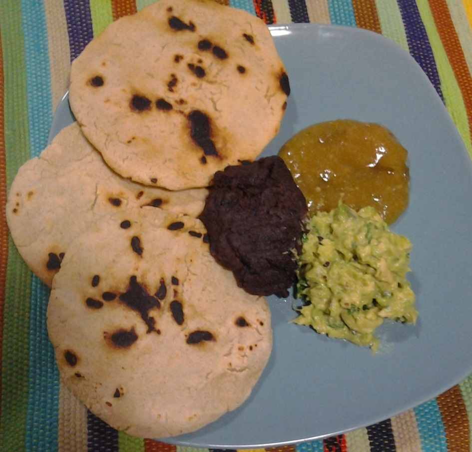 Guatemalan eats tortillas black beans and salsa guate ma mom for many guatemalan families meat is a luxury and only eaten a few times a week beans are inexpensive especially when purchased dried in the mercado or forumfinder Images