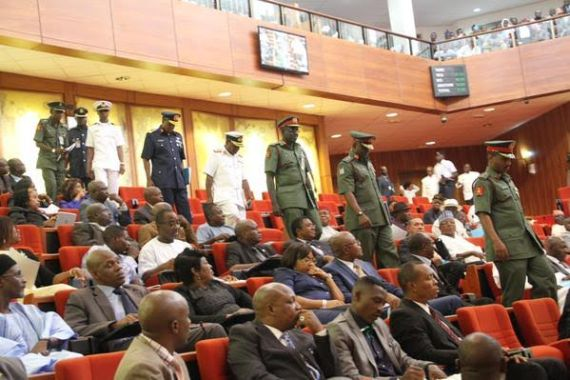 New Service Chiefs arrive senate for their screening today(Photos)