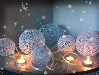 Christmas handmade balls