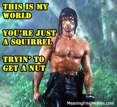 Stallone Rambo The Rain