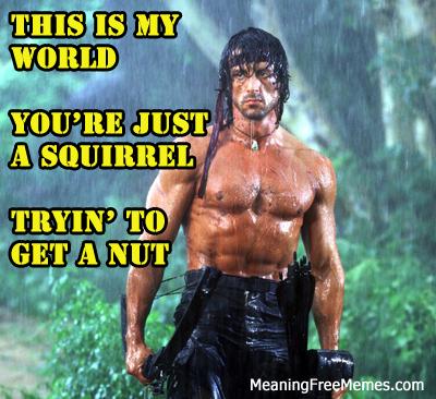 Stallone Rambo The Rain