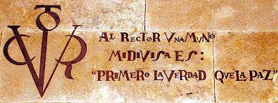VERITAS PRIUS PACE