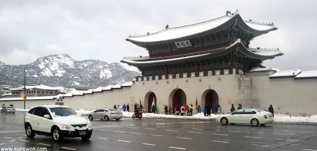 Puerta Gwanghwamun de Seúl
