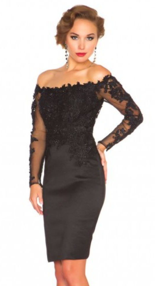 http://www.victoriasdress.co.uk/sheath-column-off-the-shoulder-elastic-woven-satin-black-cocktail-dresses-short-prom-dress-with-lace-wx755.html