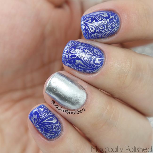 Magically Polished |Nail Art Blog|: Born Pretty Store: Paisley Nail ...