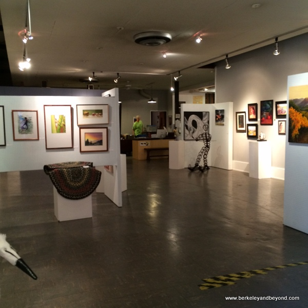 Marin Society of Artists Gallery at Marin Art and Garden Center in Ross, California