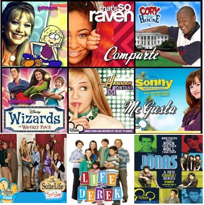 disney channel programas de tv