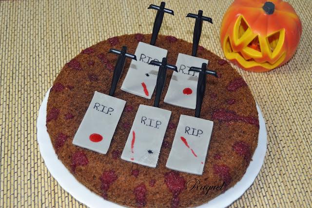 Tarta De La Muerte ( Halloween )