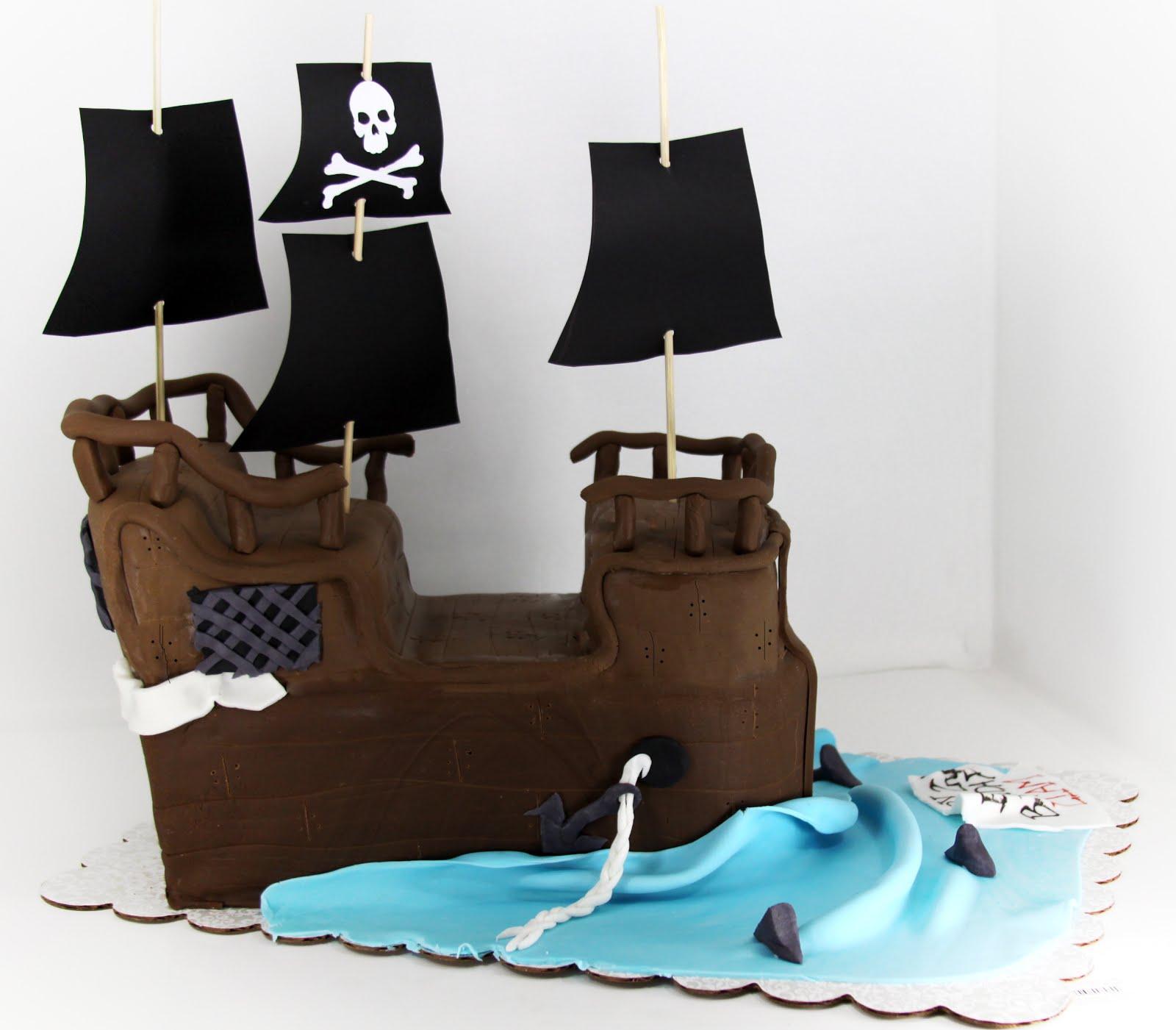 Pirate Ship Cake Pan Kit