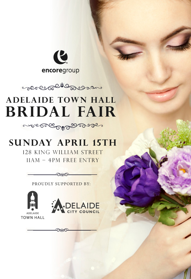 INVITATION: ADELAIDE TOWN HALL BRIDAL FAIR