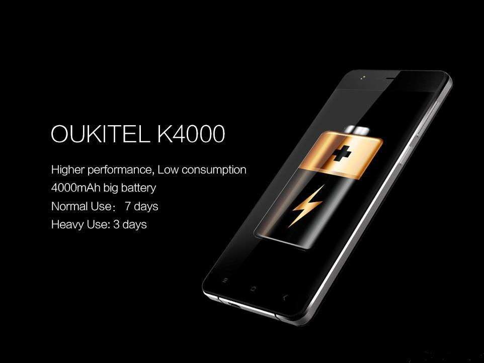 Android recensione oukitel k4000 cubot h1 doogee homtom for Smartphone con batteria lunga durata