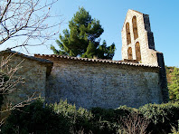 Façana nord de Sant Pere de Vallhonesta