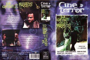 Carátula dvd: La orgía de los muertos (1973)