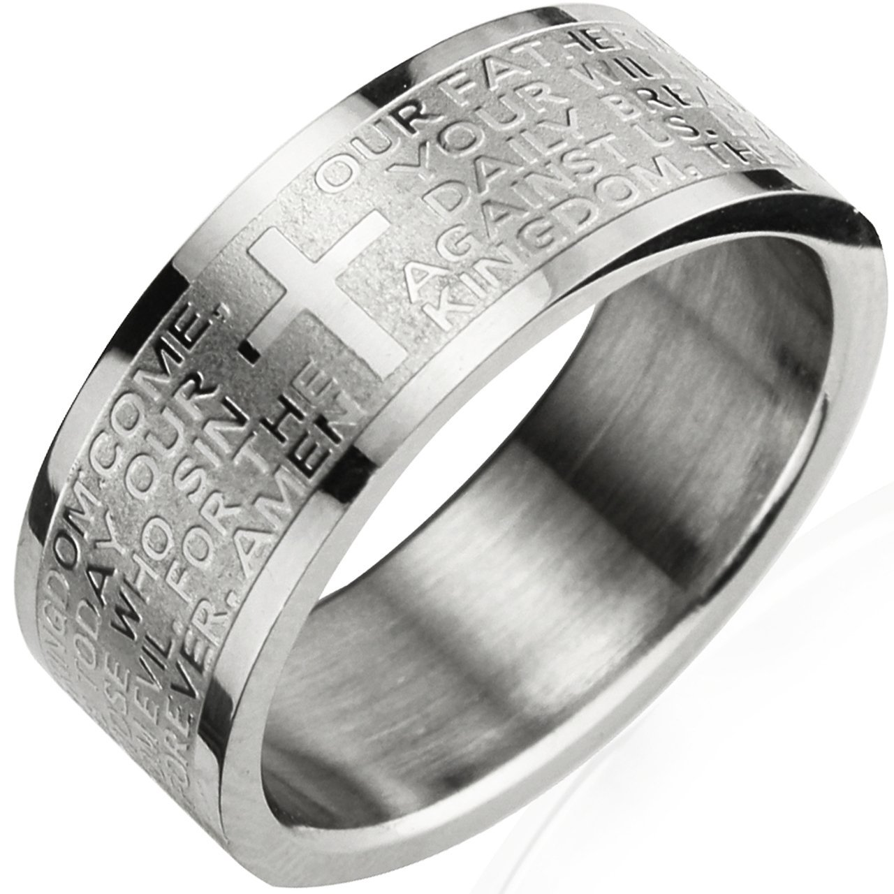 Mens Spinner Wedding Band 99 Lovely Stainless Steel English Lord