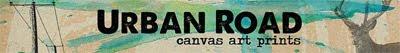 Urban Road wall art logo