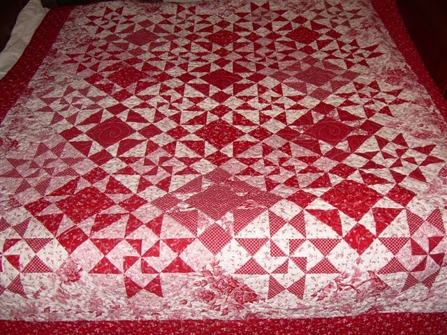 Repro Quilt Lover: Red and White Gift : red and white quilts - Adamdwight.com