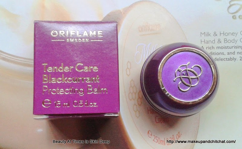 Oriflame Tender Care Blam Blackcurrant review