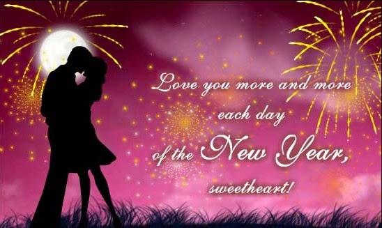 New Year Messages For Boyfriend : Happy new year wishes for boyfriend