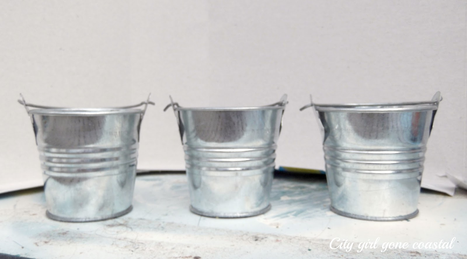 mini bucket spring craft