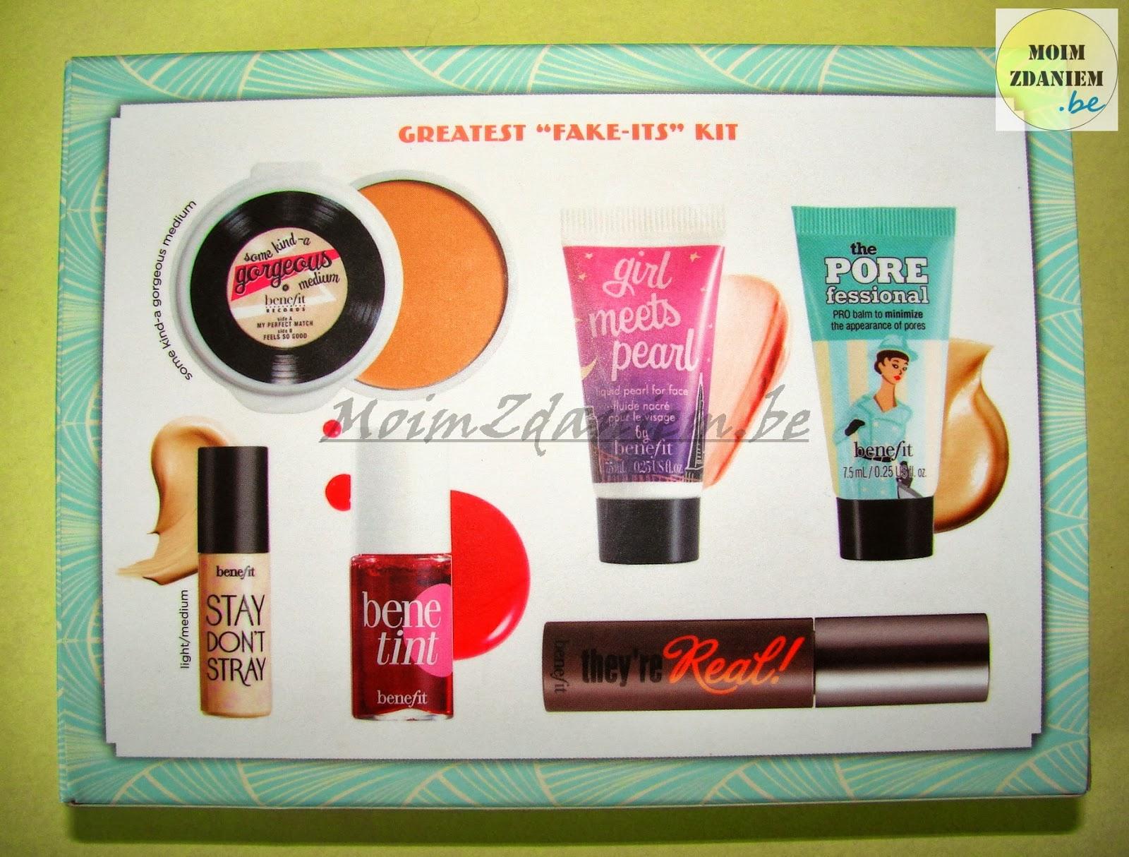 baza pod makijaż the porefessional marki benefit zestaw