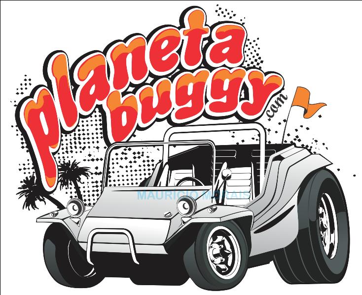 caricatura de buggy planetabuggy com
