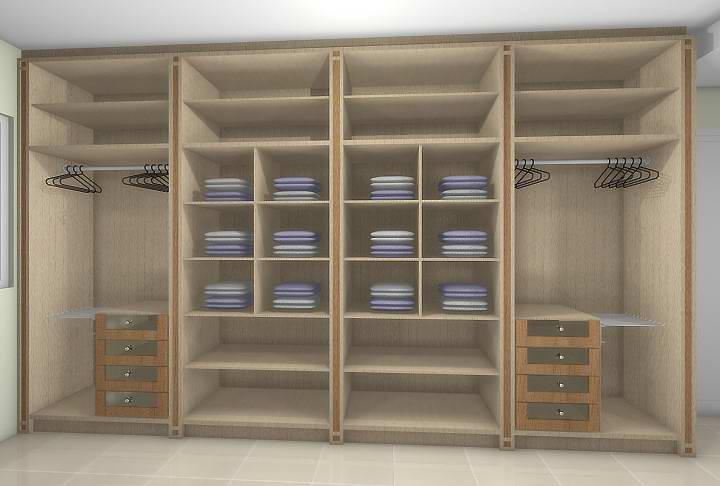 M veis correia closets for Cotizacion de closets