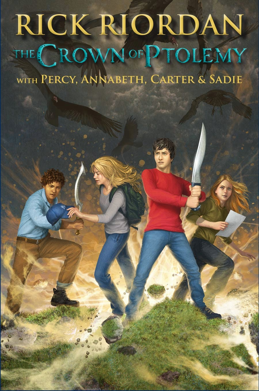 The Crown of Ptolemy By Rick Riordan
