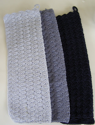 hæklet køkkenhåndklæde opskrift