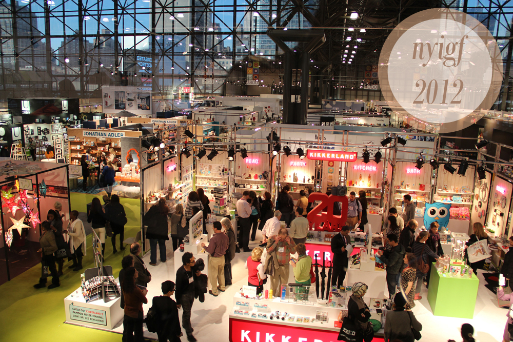 DRY AS TOAST: 12 Things from the 2012 New York International Gift Fair