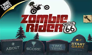 Screenshots of the Zombie Rider for Android tablet, phone.