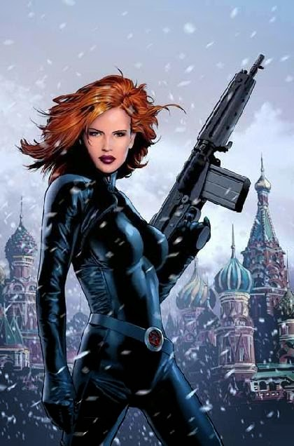 Who is Natasha Romanov in the Avengers