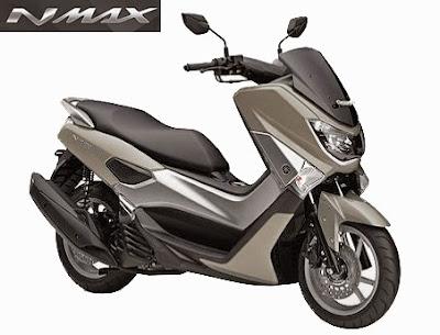 Spesifikasi dan Harga Motor Yamaha NMAX Terbaru Juni 2015