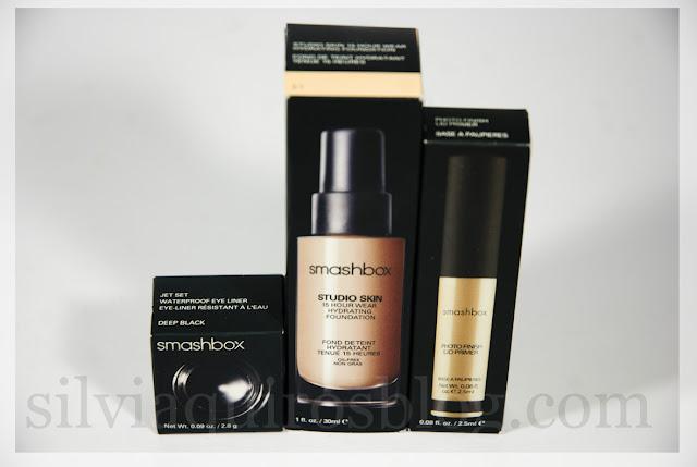 Probando maquillaje Smashbox makeup products Silvia Quiros SQ Beauty