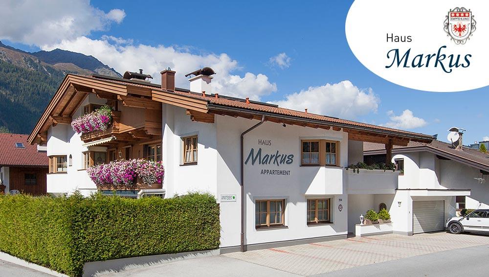 Ferienwohnung Appartements Haus Markus Längenfeld