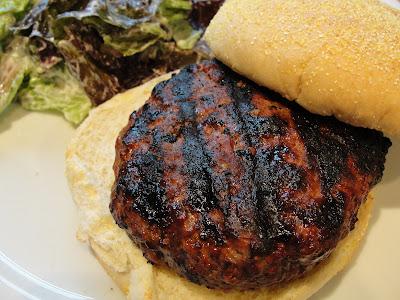 delicious Canadian beef burger