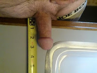 erect micropenis getting measured about 3.5 inches