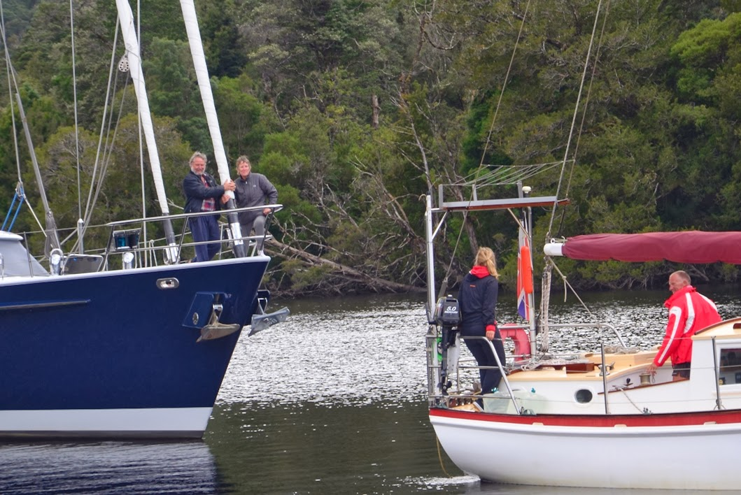 Kelly Blue Book For Boats >> Once Around The Block - Sailing with ALANA ROSE: Into the Tasmanian Wilderness – The Gordon River