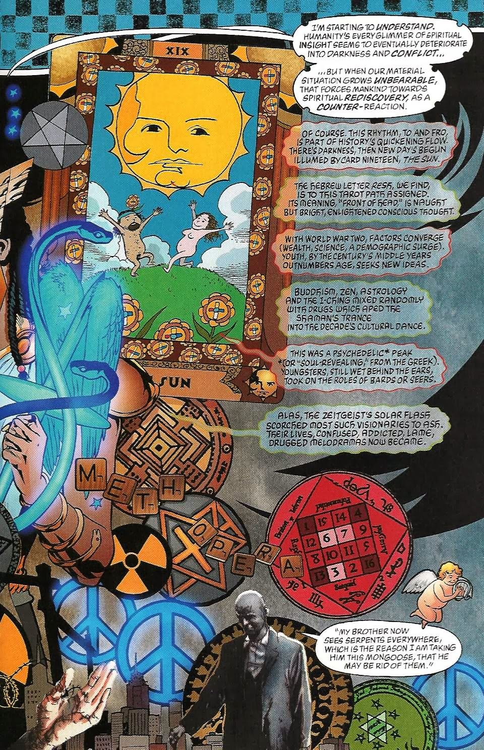 Figure 105: The Psychedelia Of The 1960s Depicted In Promethea #12 (alan  Moore And Jh Williams Iii, 2001)