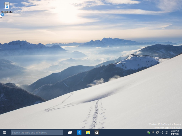 Windows 10 Technical Preview Build 10051 ISO