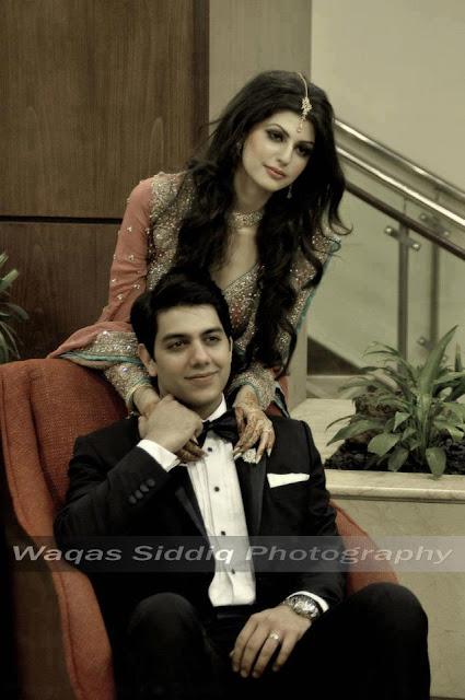 Goher Mumtaz Wedding Pic - Pakistan Celebrities