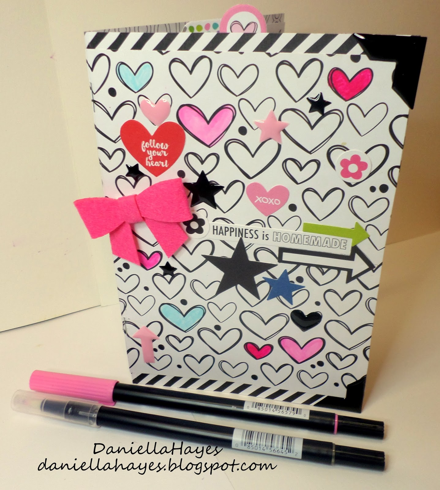 How to design scrapbook using colored paper - I Started By Cutting Several Different Just Add Color Papers I Cut The 3 Inside Pages To 7 X10 And The Diagonal Stripe Paper To 7 1 4 X10 1 4 For The