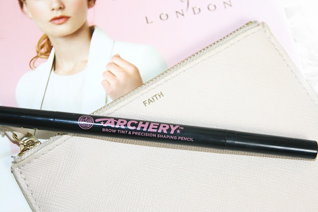 Katherine Penney Chic Blogger Beauty Makeup Brows Brow Archery Soap and Glory Review Pretty Pastel
