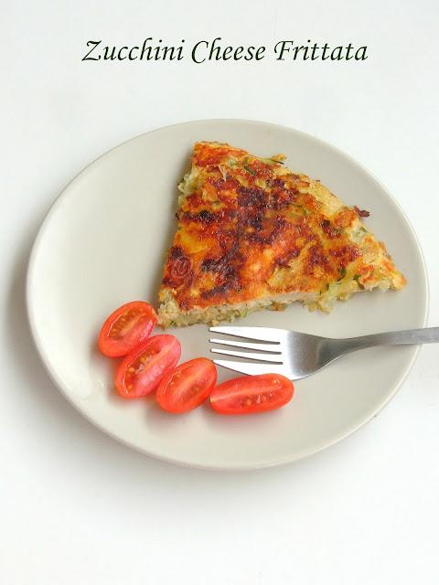 Low Carb Frittata, Cheese Zucchini Frittata