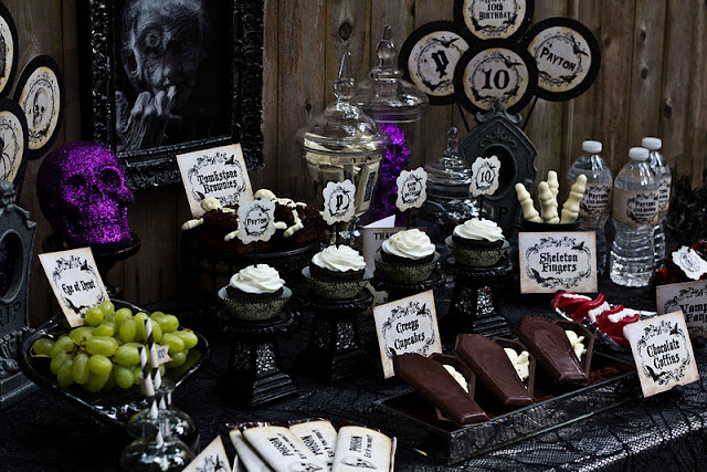 Kara S Party Ideas Haunted Mansion Halloween Party